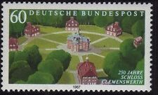 WEST GERMANY MNH STAMP SET DEUTSCHE BUNDESPOST 1987 CLEMENSWERTH CASTLE SG 2174