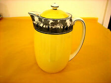 ART DECO FOLEY CHINA SILHOUETTE COFFEE/HOT WATER POT 1.25Pt  crack to the base