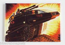 G.I. Joe Hiss Tank FRIDGE MAGNET (2 x 3 inches) gi moc cobra real american hero