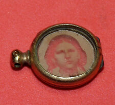 ANTIQUE PARANORMAL GHOST HAUNTED GIRL WOMAN JEWELRY PENDANT RARE WESTERN ERA