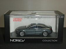 NOREV 830100 AUDI A5 SPORTBACK 2012 METALLIC DARK GREY DIECAST MODEL CAR