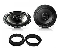 VW Scirocco 2008 onwards Pioneer 17cm Rear Door Speaker Upgrade Kit 240W