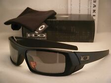 Oakley GasCan Matte Black w Black Iridium Polar Lens NEW Sunglasses (12-856)