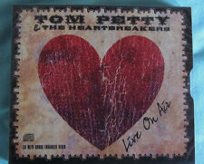 "TOM PETTY AND THE HEARTBREAKERS ""Live On Air"" 8 Track CD Slipcase + Videos"