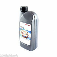 Genuine Honda MTF-3 Gearbox Oil - 1 Litre - Civic Integra S2000 CRV Accord Jazz