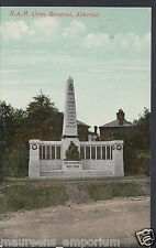 Hampshire Postcard - R.A.M.Corps Memorial, Aldershot     BT307
