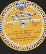"""Paul van Kempen Berliner Philharmoniker : Ouvertüre zu """" Die Weihe des Hauses """""""