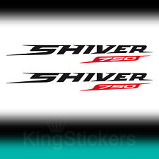 2 ADESIVI Aprilia SHIVER 750 sticker decal moto stickers