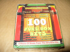 Juke Box Hits 100 Juke Box Hits 4 cd Box Set 1998 New And Sealed