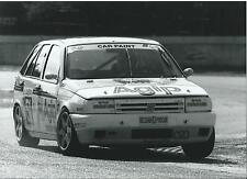 Fiat Tipo Belgian Pro Car 1993 Race Photograph Car Paint Sponser Photograph