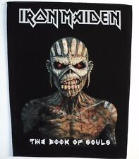 IRON MAIDEN THE BOOK OF SOULS  BACK  PATCH