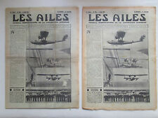 AILES 1934 686 CONSOLIDATED SALMSON PHRYGANE FUSEE AB-80 GRECE COUZINET NOAILLE
