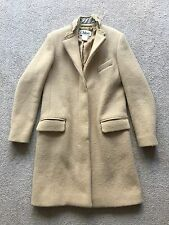 CHLOE Camel Wool Silk Coat - FR 38 (UK 10, AU 10, US 8) *as new* $4,700
