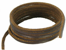 Brown Leather laces 3mm squrae laces 300 cm long
