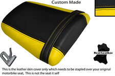 YELLOW & BLACK CUSTOM FITS HONDA CBR 600 RR5 RR6 05-06 REAR SEAT COVER