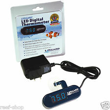 Lifegard Aquatics LED Digital Thermometer Live Coral Nano Reef FREE USA SHIPPING