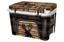YETI Cooler Full Wrap Skin Decal 24mil for Roadie 20 qt YETI Buck Crosshairs