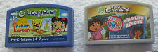 3 Leap Frog Leapster Learning Game Cartridges (Disney Fairies, Dora, Kai-lan)