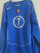 Russia 2004-2006 Player Issue 7 Away Football Shirt Size Adult Large /40631