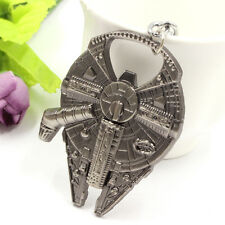 Star Wars Millennium Falcon Alloy Metal Bottle Opener Keychain
