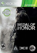 Medal of Honor -- Platinum Hits Edition (Microsoft Xbox 360, 2010)