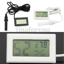 Mini Thermometer Hygrometer Humidity Digital LCD Monitor Probe for Egg Incubator
