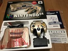 Nintendo 64 Console System GOLD Limited Edition JAPAN NTSC-J 3