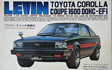 Ultra Rare!! - Out of Print - Fujimi 1/24 Scale Corolla Levin TE71 DOHC EFI