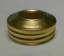 NEW REPLACEMENT SCREW ON CAP FOR ALADDIN ELECTRIC LAMPS LARGE SIZE 1-9/16 Inch