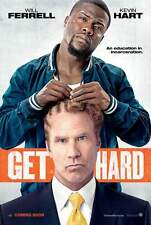Get Hard Movie Poster (24x36) - Will Ferrell, Kevin Hart, Alison Brie