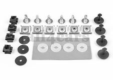 AUDI A4 VW PASSAT BOTTOM ENGINE UNDERTRAY COVER PETROL CLIPS FIXINGS FITTING KIT