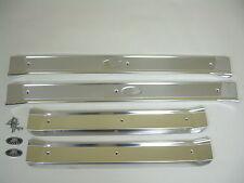 1965-1970 Chevy Impala Belair Biscayne Door Sill Plates 4 Door Hardtop Sedan