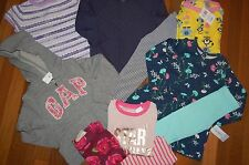 NWT Girls 4 4T Huge 10 Piece Fall Winter Lot CRAZY 8 GAP CARTER'S TCP NICE Items
