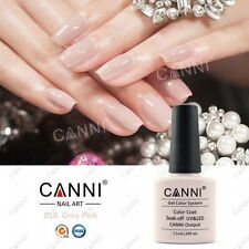 010 CANNI grey-pink Nude Beige UV LED immersione OFF Gel Colori Nail Art UK Venditore
