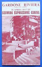 Animali - Storia Locale - 2^ Esposizione Canina Gardone Riviera - 1937