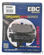 Kymco Downtown / Super Dink 300 (2009 to 2015) EBC REAR Disc Brake Pads (SFA498)