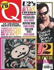 Q Magazine,U2 Achtung Baby BONO Killers,Jack White,Nine Inch Nails,Patti Smith