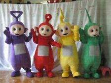 Hot 2017 New Teletubby Teletubbies Cute Cartoon Mascot Costume Adult Suit-Gift