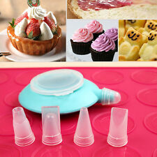Silicone Cake Dessert Cookie Decorating Tips Sets Baking Mold Pen