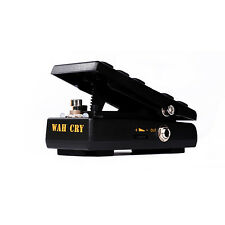 Donner Wah Cry 2 in 1 Mini Guitar Wah Effect/Volume Pedal True Bypass Free Ship