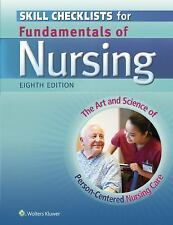 Skill Checklists For Fundamentals Of Nursing by Carol Taylor Lynn Lillis 8th Ed