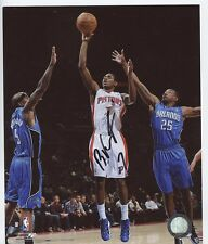 BRANDON KNIGHT DETROIT PISTONS SIGNED 8x10 PHOTO w/ COA