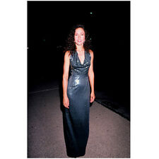 Erin Gray Standing Pose in Sparkle Gown Smiling 8 x 10 Inch Photo
