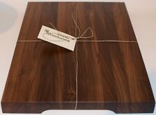 Walnut Edge Grain Butcher Block, Decorative Cutting Board, Conditioning Oil wood