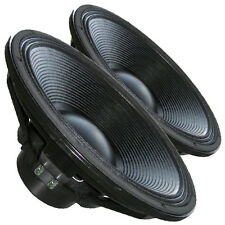 "Pair Beyma 18SW1600Nd Neodymium Mega Subwoofer use 5"" VC & 10mm Xmax 8Ohm 97dB"