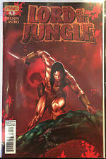 Lord of the Jungle #4 VF+/NM- 1st Print Free UK P&P Dynamite Comics