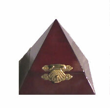 Pyramid Gold Ring Pin Trinket Gift Box Retail Jewelry Store Display Supply Coin