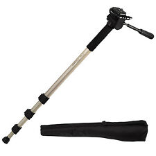 Hama Étoile 78 Universal dslr digital camera monopod Pole-libération rapide tête inclinable