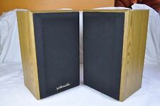 Vintage Polk Audio Monitor Series 2 Pair Bookshelf/Standmount Speakers