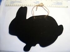 RABBIT bunny shape chalkboard birthday gift blackboard notice pet Christmas